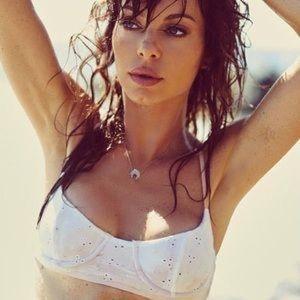 Lolliswim White Bikini Top